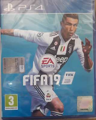 SONY PS4 Playstation 4 - FIFA 19 - nuovo sigillato PAL ITA