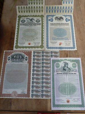 City of Berlin, German External Loan 1924, Free State of Prussia