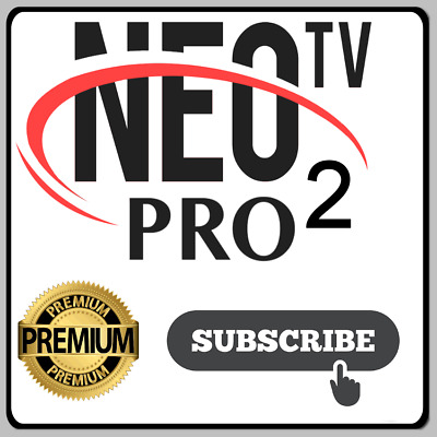 1 Year IPTV NEO PRO  Smart Tv..Android..M3U..MAG..Xtream..Code....