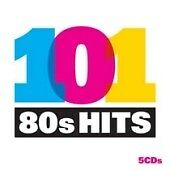 101 80's Hits 5 CD Set Queen,Duran,Bowie,Madness,OMD,Blondie,The Specials,UB40..
