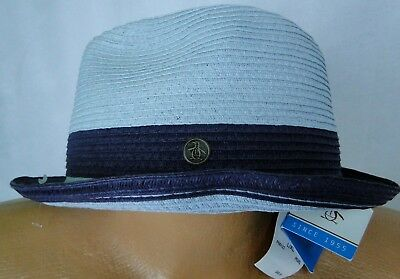 87a14909547 Straw Fedora Hat by An Original Penguin in Pearl MSRP  49.50 NWT COOL! - sz
