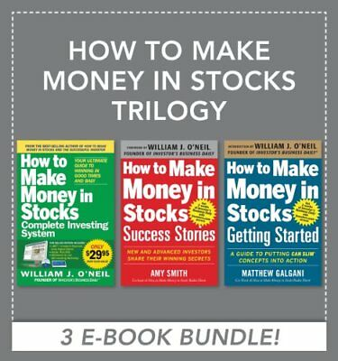 How to Make Money in Stocks Trilogy : 3 PDF-BOOKS IN ONE  (Fast Delivering )