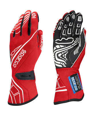 Sparco Lap RG-5 FIA Race Gloves Red Race / Rally