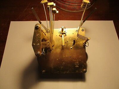 Franz Hermle 1051-051 43 cm Clock Chime Movement  UNTESTED