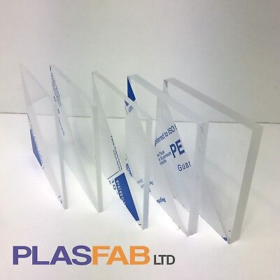 Clear acrylic sheet perspex 3mm 4mm 5mm 8mm 10mm plastic cut to size Window