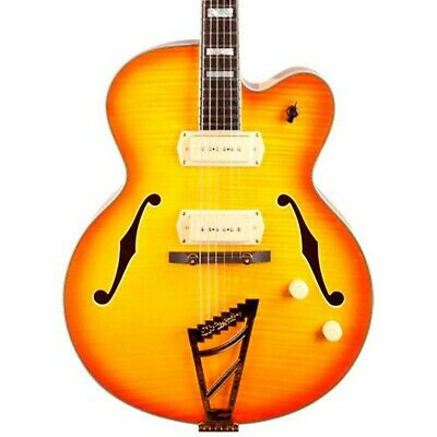 D'Angelico Excel Series 59 Hollowbody Guitar with Stairstep Tailpiece Sunburst