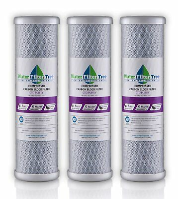 Glacial Peaks Refrigerator Water Filter EDR2-RXD1, Compatible Whir-lpool W1041..