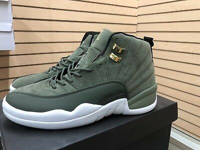 4a79ea5cecaa NIKE AIR JORDAN Retro XII 12 CP3 Chris Paul Class of 2003 Olive Size ...