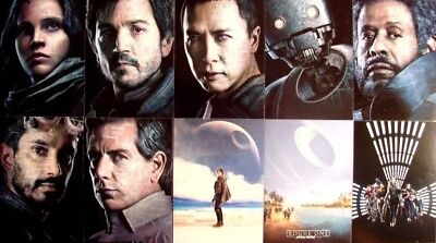 2017 Topps Star Wars Rogue One Series 2 - COMPLETE 10 CARD POSTER SET !!!