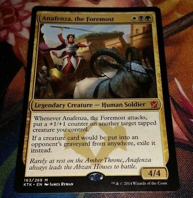 the Foremost ~ Khans of Tarkir ~ NearMint//Excellent Anafenza ~ Magic MTG