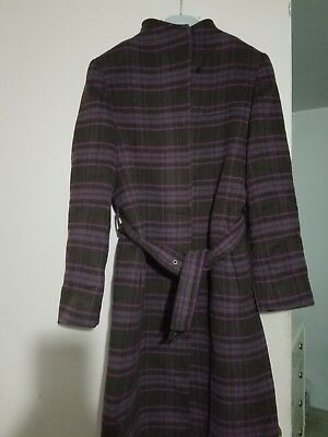 8cde4e37795 CINZIA ROCCA ICONS Wool   Cashmere-Blend Belted Coat.Size 4 .Made in ...