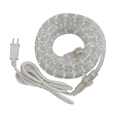 AmerTac RWLED6BCC Indoor/Outdoor LED Rope Light Kit with PVC Tubing, 6'