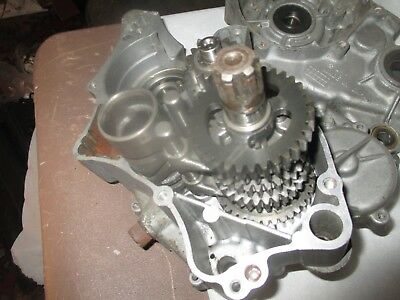 kawasaki kx 60 crank case set with gearbox