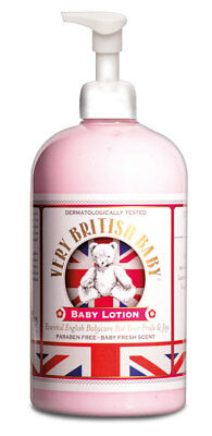 Very British Baby Lotion 500ml - SET OF 2 - special offer £8.99 for 2
