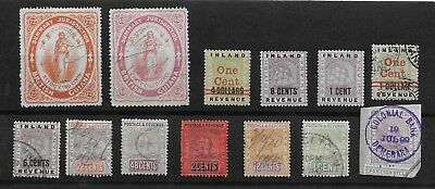 E4578 British Guiana Revenue Stamps Duty Lot