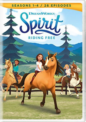 Spirit Riding free seasons 1-4 DVD - new and sealed - postage free