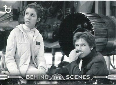 Star Wars ESB Black & White Behind The Scenes Chase Card BTS-9 Echo Base downti
