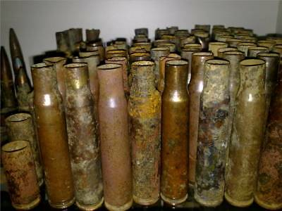WW2 US ARMY - DEN 43 (1) Bullet casing from DENVER ORDNANCE Plant - 1943