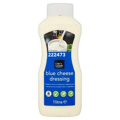 1Ltr Brand New & Sealed Bulk Catering Size Blue Cheese Salad Dressing