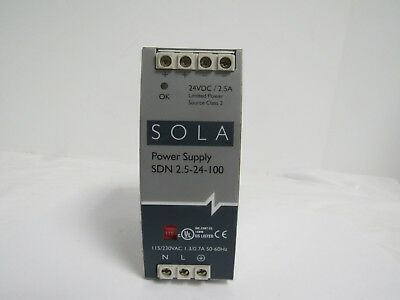 Sola Power Supply Sdn 2.5-24-100 24Vdc/2.5A