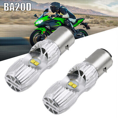 9003 HS1 For KTM 250 300 XCW 2014-2018 2019 LED Headlight White 100W H4 2x Bulbs