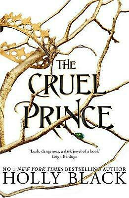 Cruel Prince (the Folk of the Air) by Holly Black Paperback Book Free Shipping!