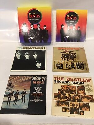 The Beatles The Capitol Albums Vol. 1 Four 4 CD Box Set 1st 4 Albums Mono/Stereo