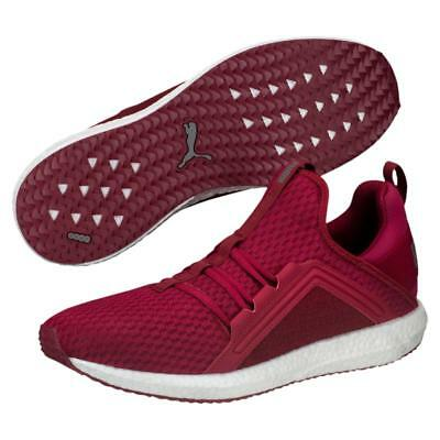 ea3a94808823 Puma Mega NRGY Heather Knit Men's Running Shoes Color Tibetan red quiet  shade