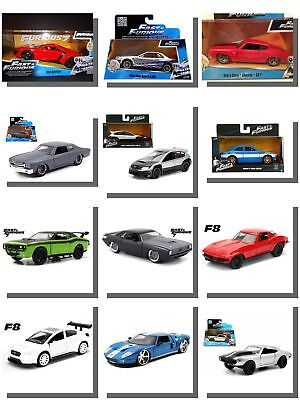 Fast and Furious Model Cars Diecast Model Car.