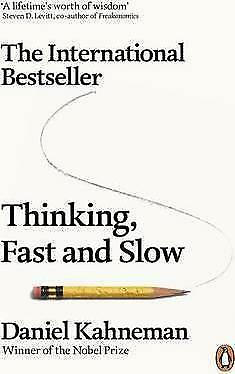Thinking, Fast and Slow by Daniel Kahneman Book NEW & Free Post AU