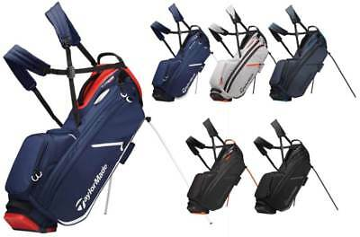 TaylorMade FlexTech Crossover Stand Bag 2019 Golf Carry Bag New - Choose Color!