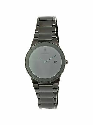 Citizen Men's Eco-Drive AU1065-58E Black Stainless-Steel Plated Dress Watch