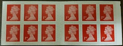 12 x 1st Class Royal Mail Postage Stamps NEW AND UNUSED, END OF STOCK