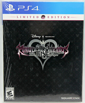 New Kingdom Hearts 2.8 Final Chapter Prologue Limited Edition with Pin PS4 PS 4