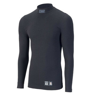 OMP Tecnica FIA Long Sleeve Top Black Race / Rally
