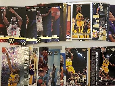 Shaquille O'Neal Lot 28 (26 different) NBA Basketball Card