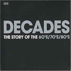 Decades-the Very Best of the 60's,70's and 80's, Various Artists, Good Box set,