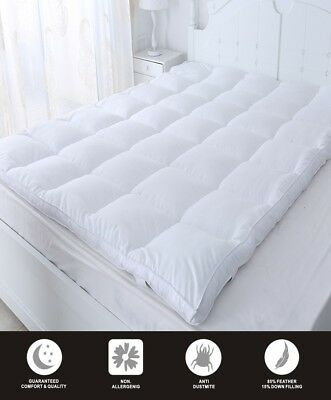 Luxurious Duck Feather & Down Mattress Topper (Available in 5 Size)