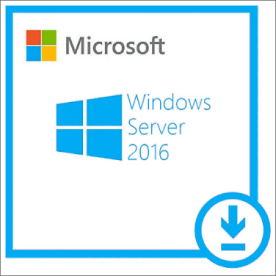 Microsoft Windows Server 2016 Standard / Essentials / Datacenter Edition 64bit
