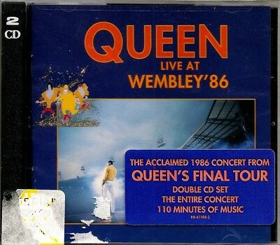 Queen 2x cd Live at Wembley '86 (1992, Hollywood) NEW Sealed Bohemian Rhapsody