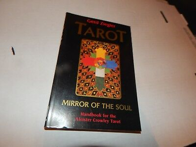 The Book Of Thoth Egyptian Tarot By Aleister Crowley Paperback Book