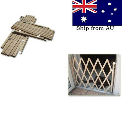 Baby Gate Safety Fence Child Protection Wood Door Dog Cat Pet Barrier AU