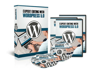 Expert Editing with WordPress 5 Gutenberg WP5.0 Video Training Course on DVD-Rom