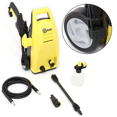 Yellow Pressure Washer High Jet 1500W Electric Power Patio Car Cleaner Unit Tool