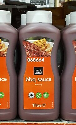 1Ltr Brand New & Sealed Bulk Catering Size Smokey BBQ Barbecue Sauce