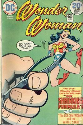 Wonder Woman (1st Series DC) #210 1974 VG 4.0 Stock Image Low Grade