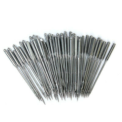 50/100Pcs Home Sewing Machine Needles 11/75,12/80,14/90,16/100,18/110 for Singer