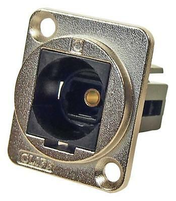Cliff Electronic Components - CP30217M - Fibre Optic Adapter, Toslink, Csk Hole