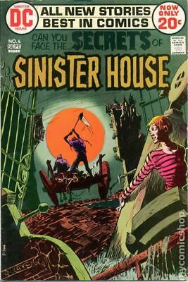 Secrets of Sinister House #6 1972 VG+ 4.5 Stock Image Low Grade