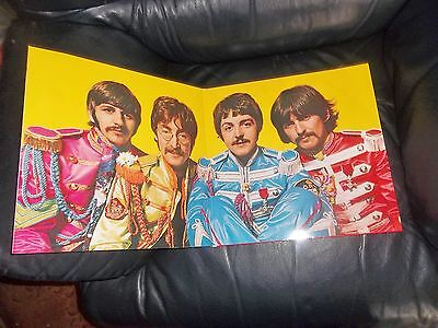 The Beatles Sgt Peppers Lonely Hearts Club Band Album New Mint Complete Fab!